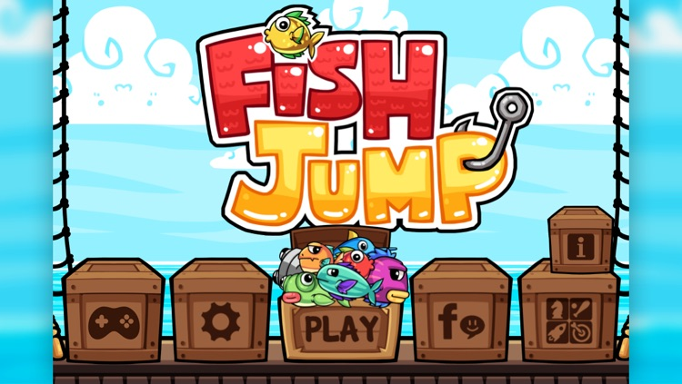 Fish Jump - Tap Tap Free Arcade Game screenshot-3