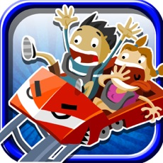 Activities of Scary Rollercoaster Theme Park Rush - Tilt Strategy Game