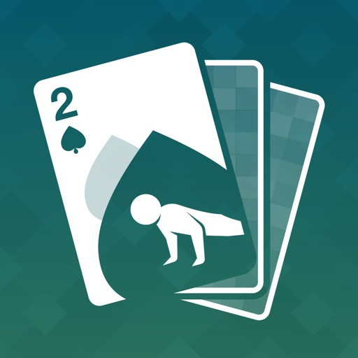 Fitness Poker: Fat Burning Physical Fitness Training Game with Body Shred Workouts