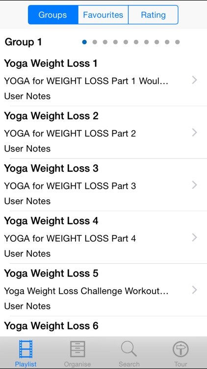 Yoga Weight Loss Workouts screenshot-1