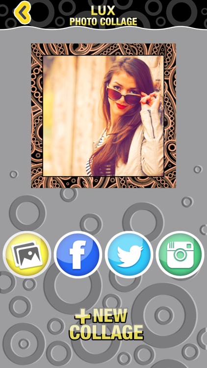 Lux Photo Collage Editor: Luxurious Picture Frames & Grid Maker for Collages screenshot-4