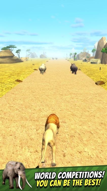 Safari Run Free - Wild Animal Jam Running Survival Games for Kids screenshot-3