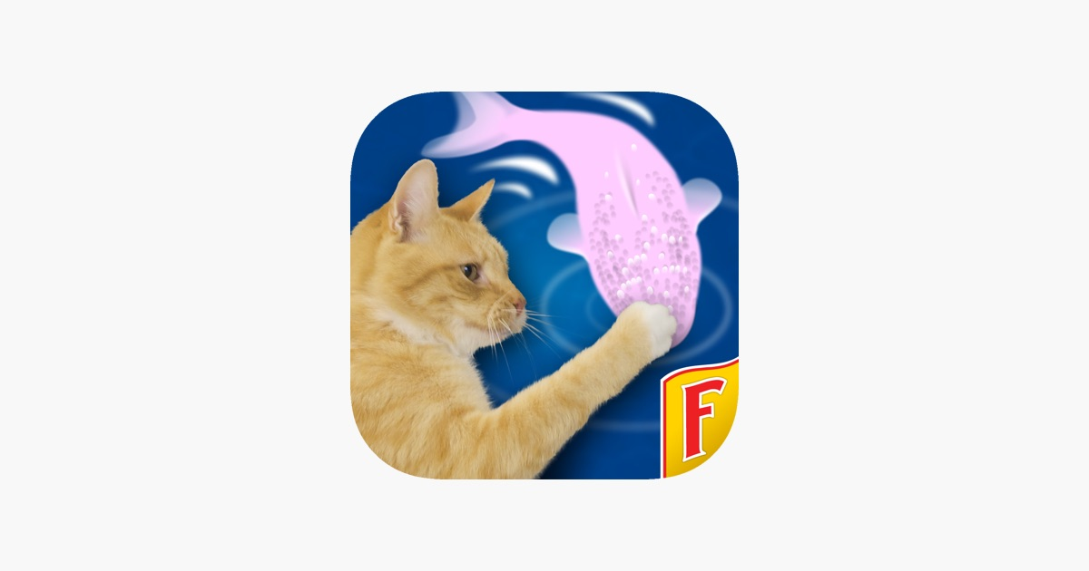 Cat fishing 2 on the app store for Friskies cat fishing