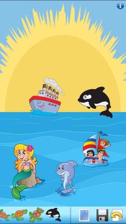 Ocean Sticker Book!