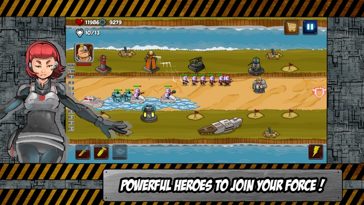 Aliens Invasion Heroes : Defense and Guard the Earth