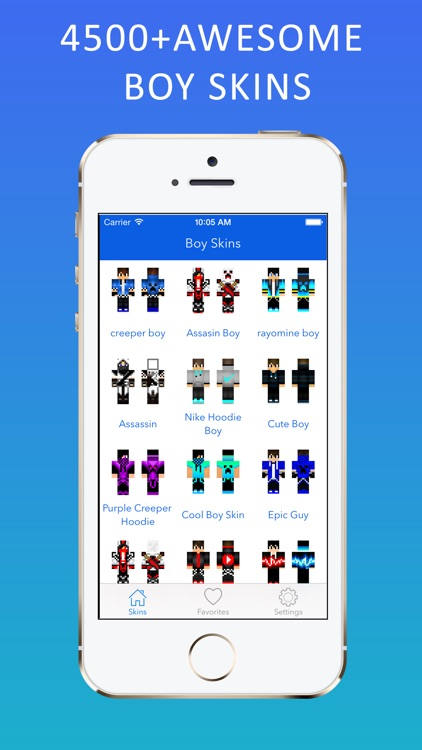 Best 3D Boy Skins Pro for Minecraft PE