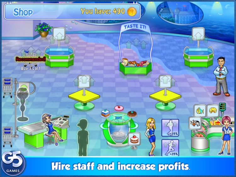 Supermarket Management HD (Full)