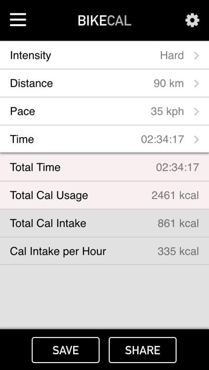 BikeCal screenshot-3