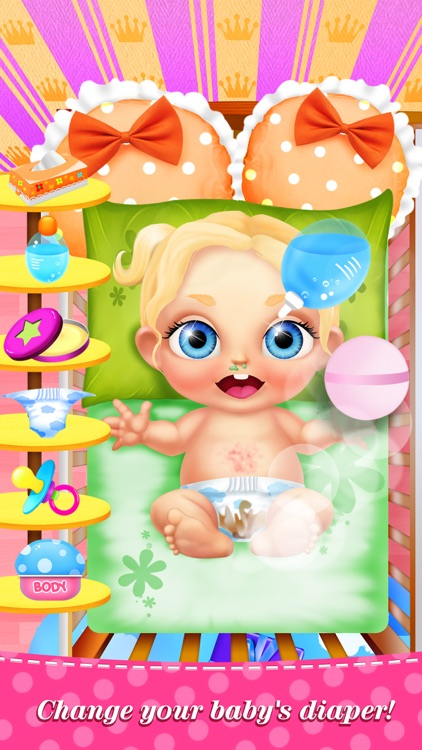 My Baby Care™ Newborn Babies: Nursing & Dress Salon Kids Game