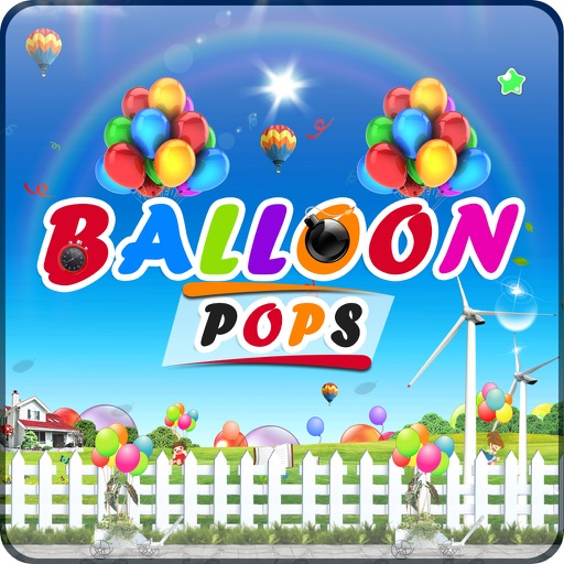 Balloon Popping Pop - Fun Air Balloon Popper Game Free