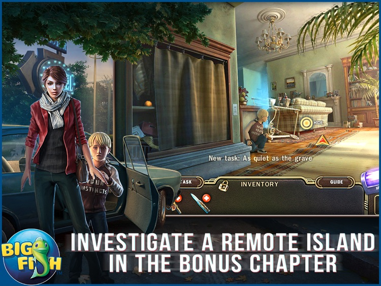 Paranormal Pursuit: The Gifted One HD - A Hidden Object Adventure screenshot-3