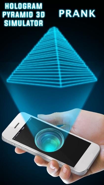 Hologram Pyramid 3D Simulator