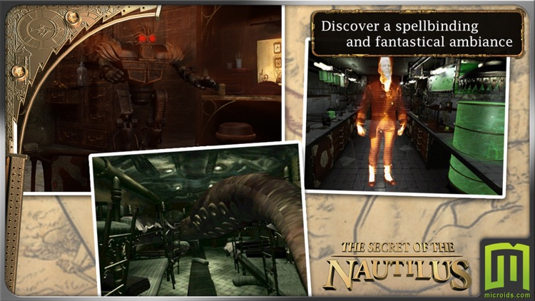 Jules Verne's Mystery of the Nautilus (Universal) screenshot-2