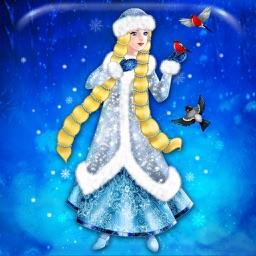 Снегурочка. Интерактивная книжка для детей. FREE