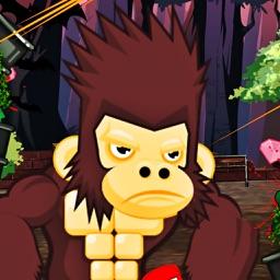 Gorilla And Banana Monkey Game 2016