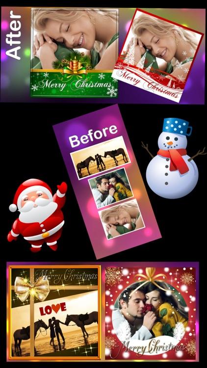 Christmas Photo Frames and Stickers :) screenshot-4