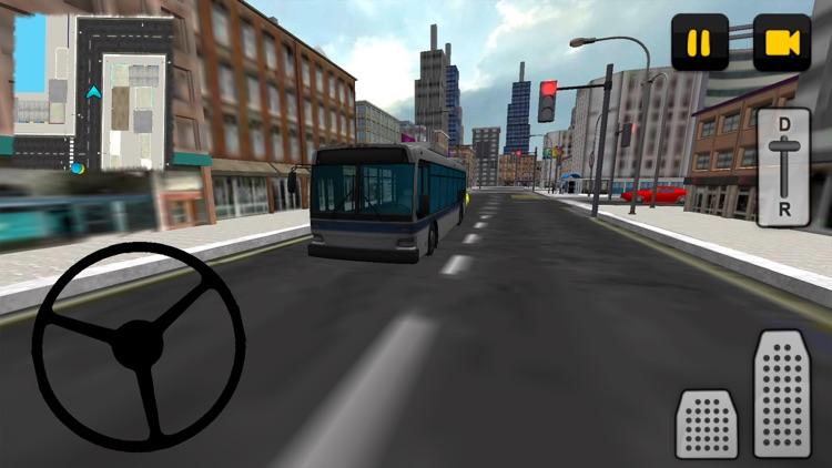 Bus Driver 3D: City screenshot-3