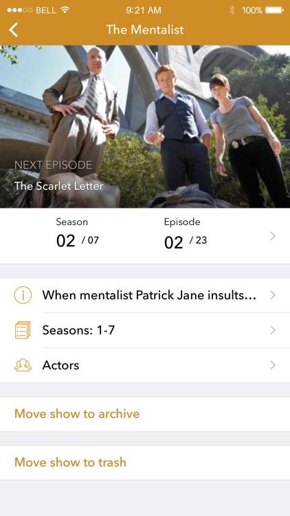 TuVu - TV Show & Episode Tracker