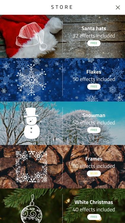 Xmas Cam - Christmas Stickers and Photo Frames screenshot-4
