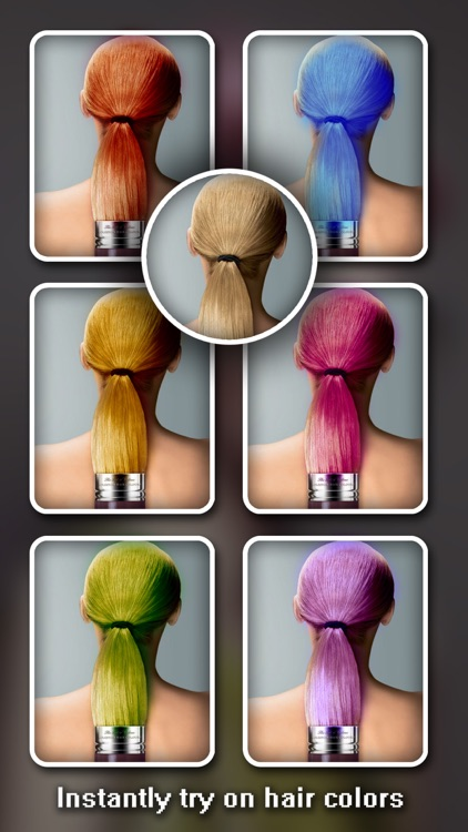 Hair Color Changer Pro - Recolor Booth to Dye, Change & Beautify Hairstyle