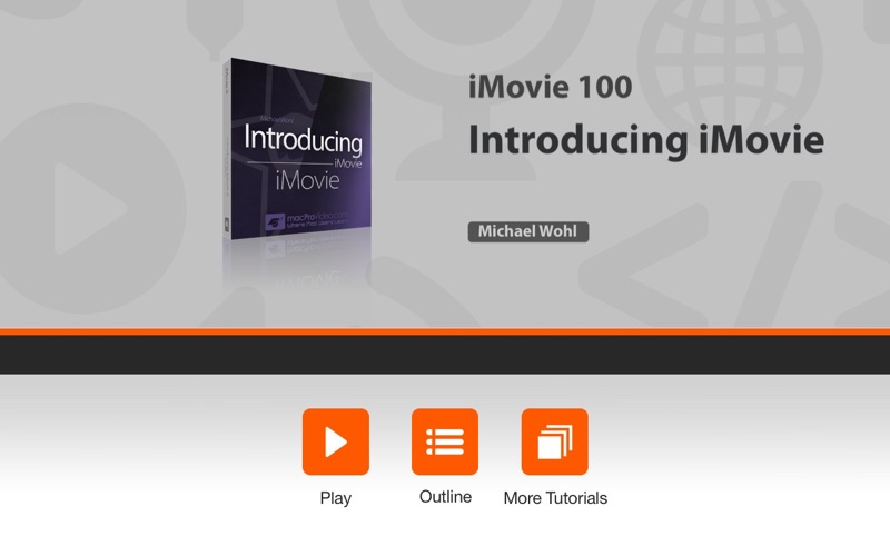 Course for Intro to iMovie Screenshot