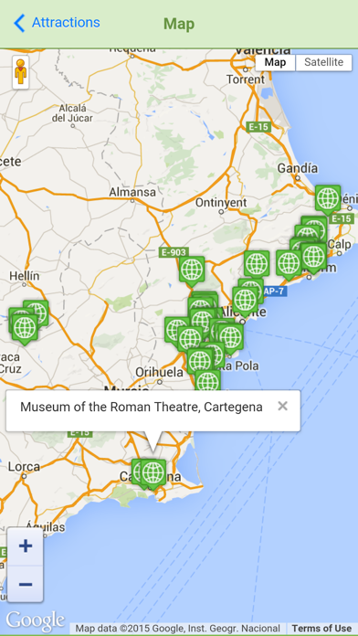 Costa Blanca Directory screenshot one