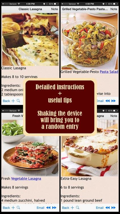 300 Pasta and Lasagna Recipes