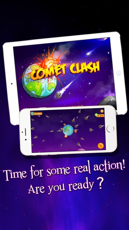 Comet Clash - Can You Save the Earth from Extinction screenshot-0