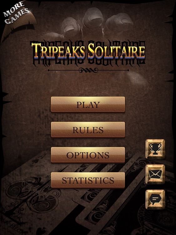 TriPeaks Solitaire for iPad