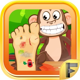 Pet Foot Doctor Animal Surgery Doctor - Free Games For Kids