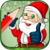 サンタクロースのぬりえクリスマス - 本を着色サンタや聖ニコラス子供の最善の図面2-6歳