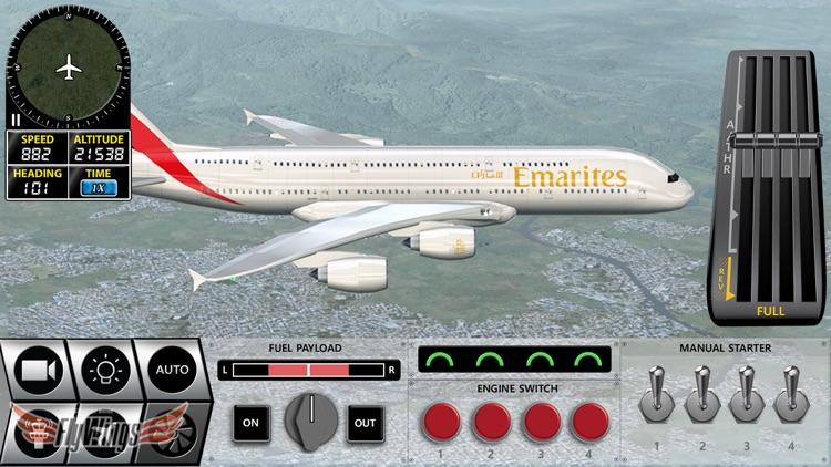 Flight Simulator FlyWings Online 2016 HD