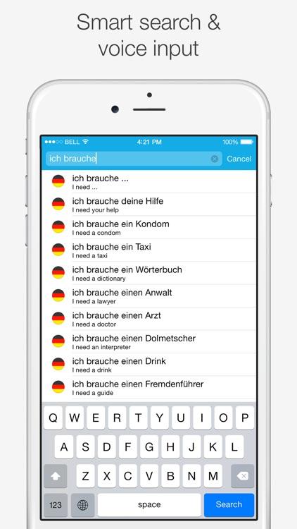 Translations: German - English Dictionary screenshot-4