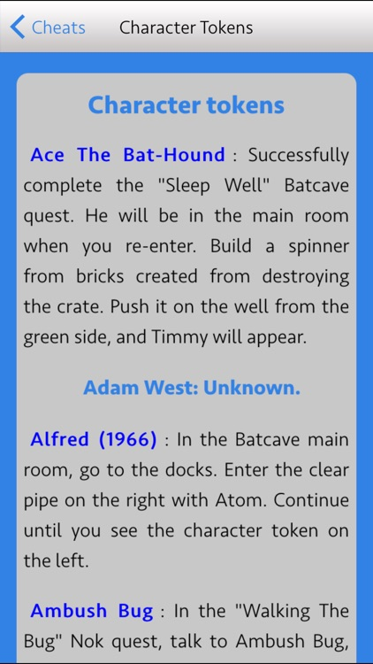 The Best Guide+Cheats For Lego batman 3: Beyond Gotham Edition screenshot-4
