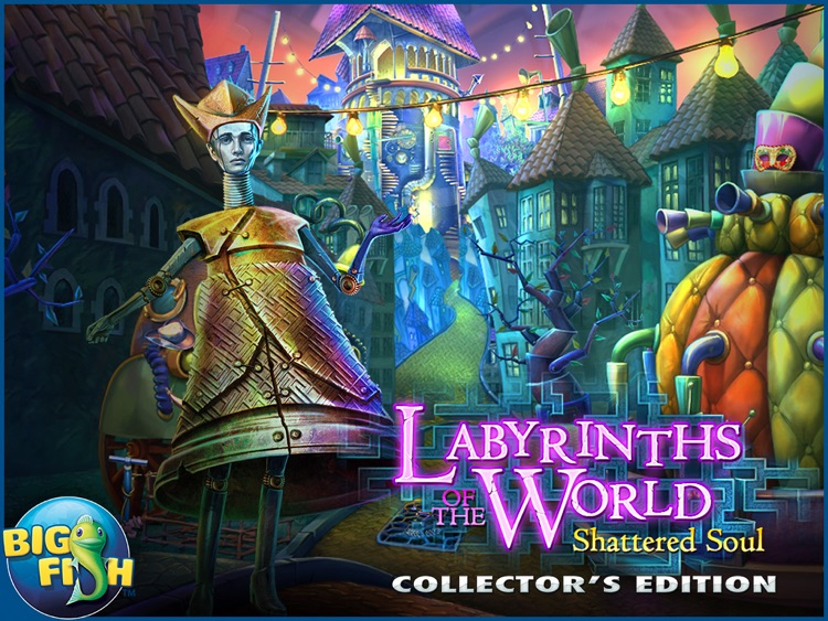 Labyrinths Of The World: Shattered Soul HD - A Supernatural Hidden Object Adventure screenshot-4