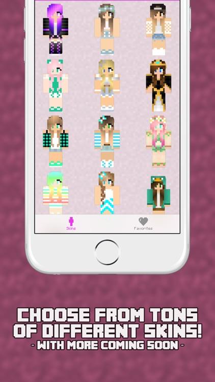 Girl Skins for Minecraft PE - Pocket Edition Girl Skins