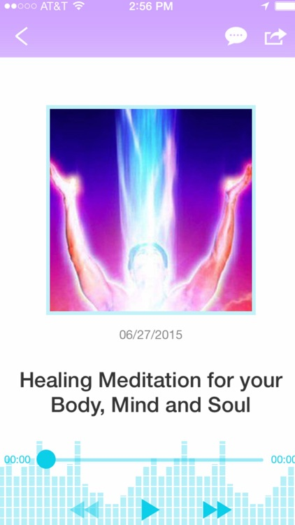 Guided Meditation for Healing  the Body, Mind and Soul!-Jafree Ozwald screenshot-1