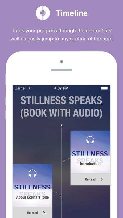 Stillness Speaks (book with audio)