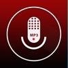 MP3レコーダー(無料) – mp3の音声メモ、再生、共有
