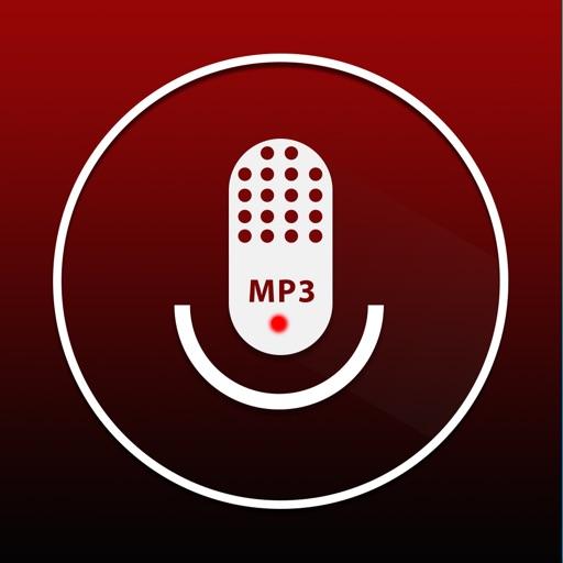MP3レコーダー(無料) - mp3の音声メモ、再生、共有