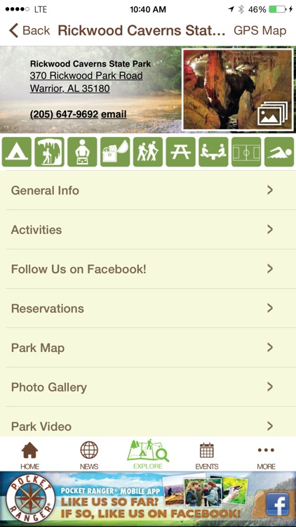 Alabama State Parks Guide- Pocket Ranger® screenshot-4