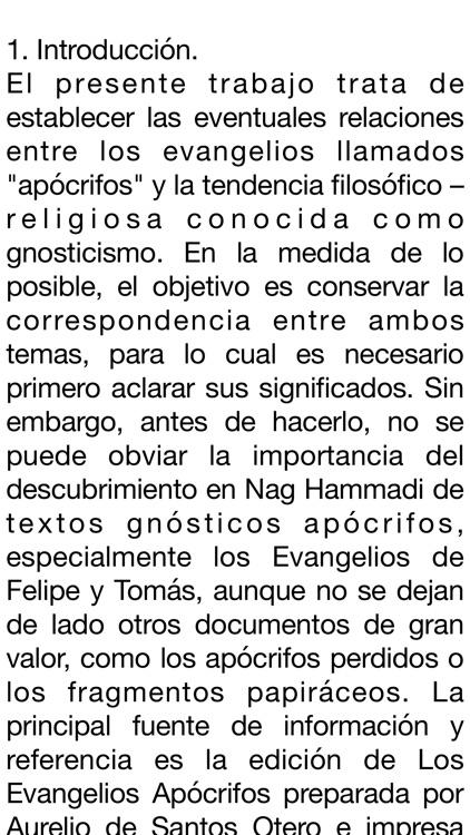 Evangelios Apócrifos screenshot-3