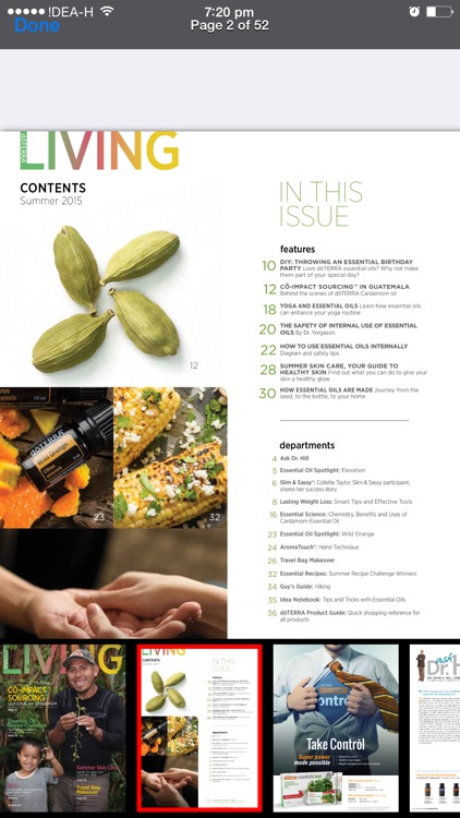 dōTERRA Living Magazine screenshot-1
