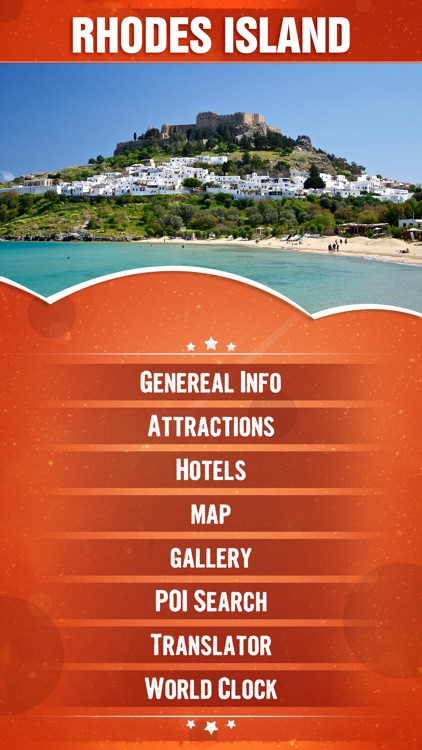 Rhodes Island Tourism Guide screenshot-1