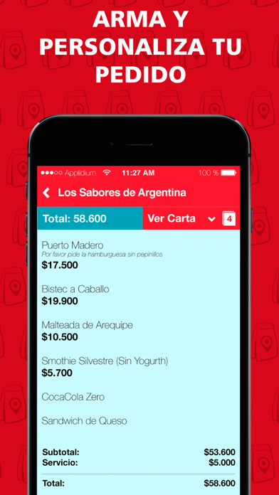 Screenshot for TeLoLlevo in Venezuela App Store