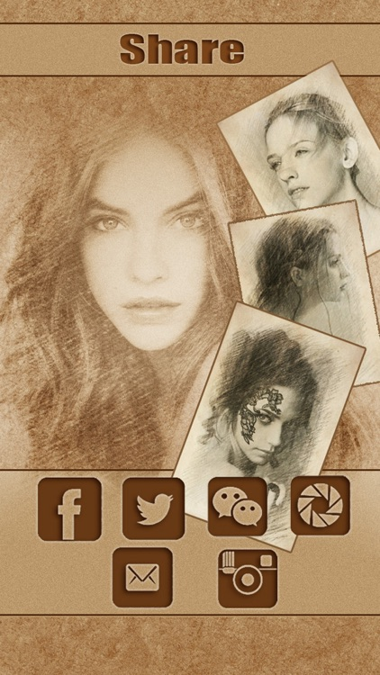 Sketch Guru Pro - Portrait Photo Editor to add pencil & cartoon effects, texts, stickers on pic screenshot-4