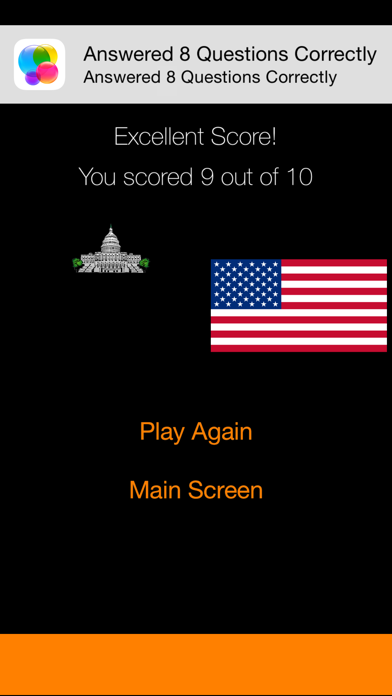Against The Clock - American State Capitals screenshot four