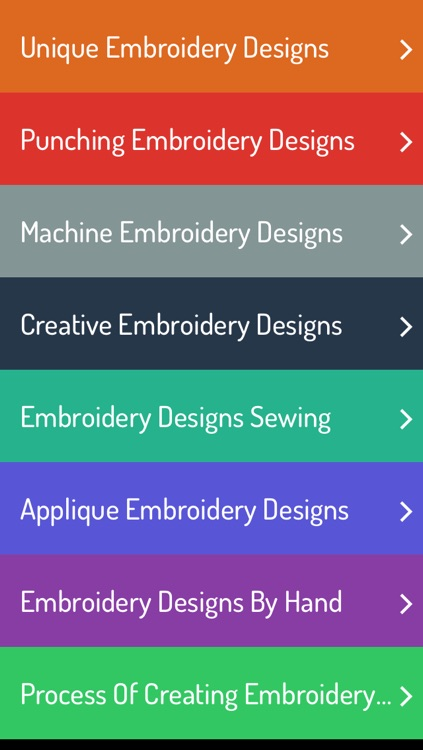 Embroidery Design Ideas - Guide For Embroidery Designs