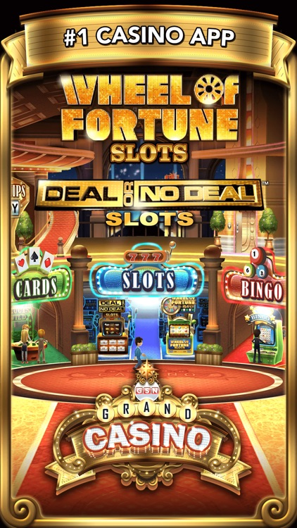 GSN Grand Casino - Play Free Slots, Bingo, Video Poker and more!