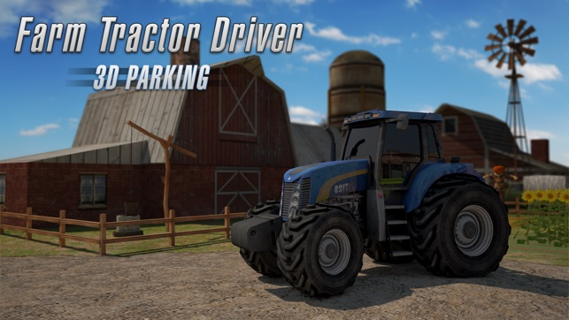 tracteur agricole 3d driver parking r aliste farming simulator dans l app store. Black Bedroom Furniture Sets. Home Design Ideas